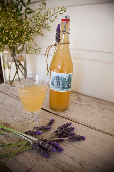 home made lavender lemonade